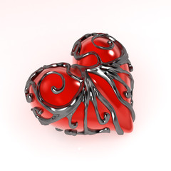 Enclosed Heart, Side