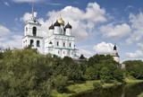 Pskov kremlin view poster