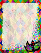 Maschera Arlecchino-Mask Background-Masque Arlequin-Verticale - 16523280