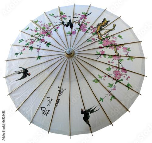 ombrelle déco japonaise détourée - 16524453