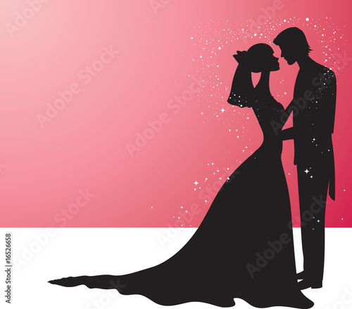 Wedding silhouette