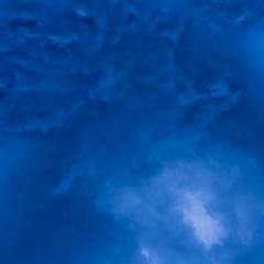 dark blue cloudly sky