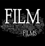 Film word cloud