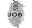 Job tags cloud