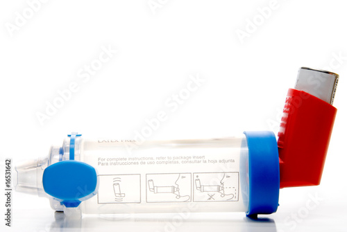 Asthma Inhaler Extension Tube