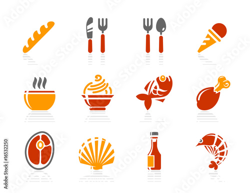 Food and Restaurant icons | Sunshine Hotel series