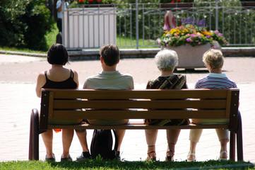 Seduti sulla panchina
