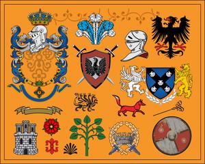 Heraldic elements - 1