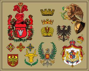 Heraldic elements - 6