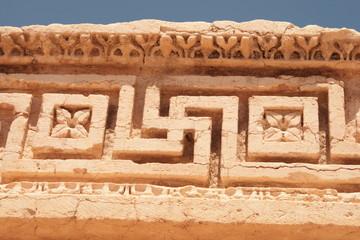Swastikas in Palmyra