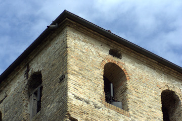 cima della torre antica