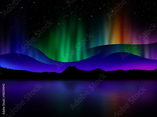 Nothern lights - 16550042