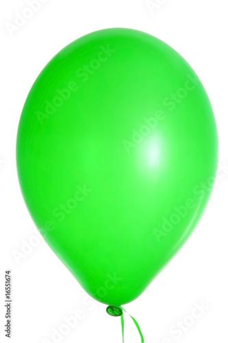 Leinwandbild Motiv green baloon