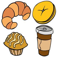 Coffee Shop Food Items