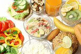 healthy nutrition and diet poster