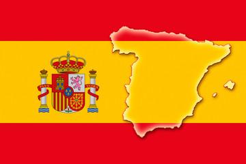 spain spanien espania flag fahne