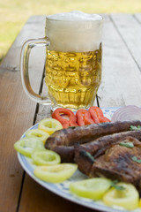 Beer and sausage 4