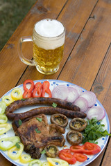Beer and sausage 6