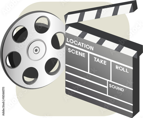 film reel and platelet