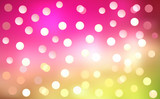Multicolor Blurry Festival Defocussed Lights poster