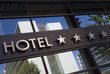 Leinwandbild Motiv hotel
