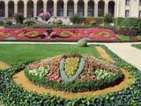 arcades et jardin du Palais Saint Georges poster