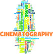 Cinema word cloud