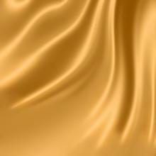 Smooth elegant gold Seide