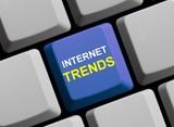 Die neuesten Internet Trends poster