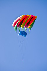 Colorful Kite in sky