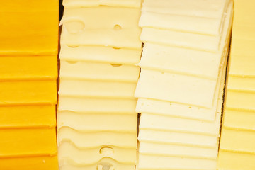 Sliced Cheeses