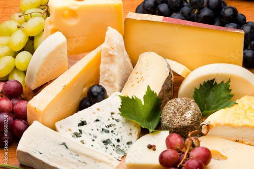 Papiers peints Produit laitier Assortiment et plateau de fromage