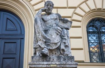 hippokrates vor staatsbibliothek