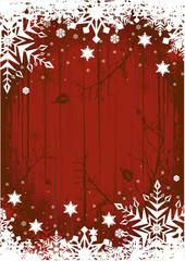 Grunge Winter Background