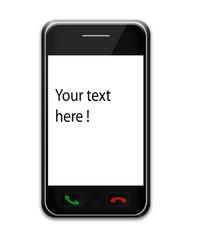 Téléphone portable tactile