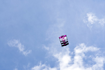 Box shaped kite