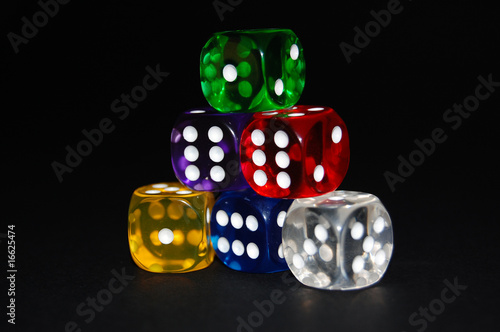 Pyramid of dice 2