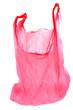sac plastique rose