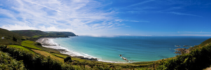 Baie d'Ecalgrain - Panorama - Cotentin - Manche - France