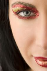 shining make up
