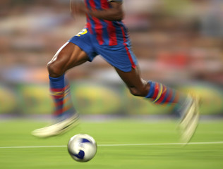 Futbol accion movimiento