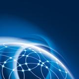 Fototapety Netzwerk und Internet