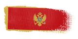 bandiera Montenegro poster
