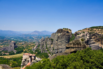 Beautiful rocks Meteora