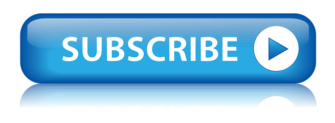 "Rectangular vector ""SUBSCRIBE"" button (blue)"