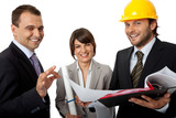 happy contractor and investors poster