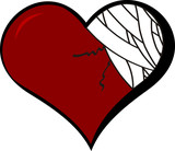 heart broke poster