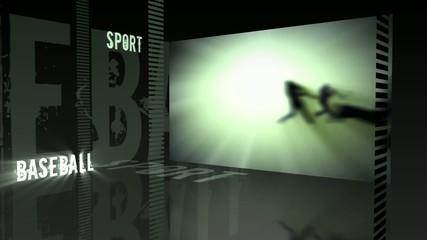Sport theme - Baseball