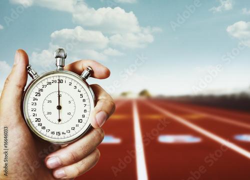 Leinwanddruck Bild old chronometer