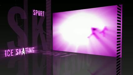 Sport theme - Ice skating